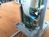 A Raspberry Pi 2 is used to control the FlyPi